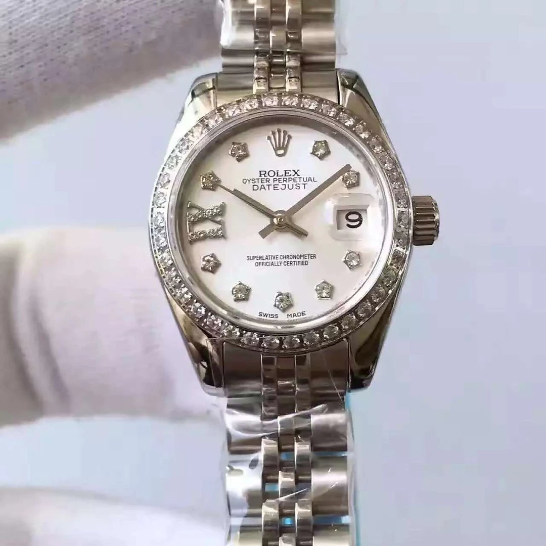 33mm Rolex Datejust MOP Dial