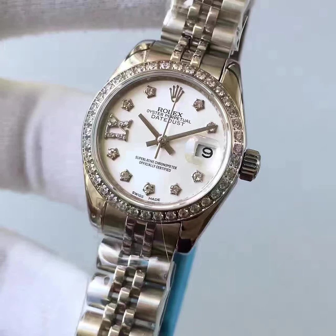 33mm Rolex Datejust MOP Diamond Watch