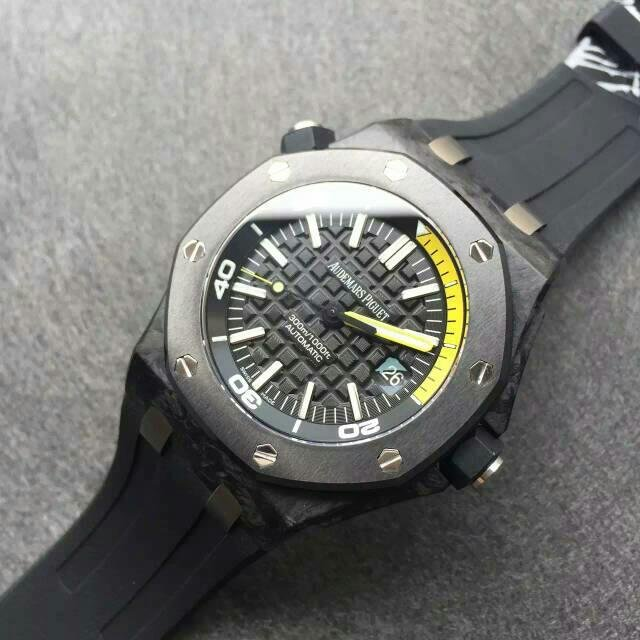 AR Coating on Audemars Piguet 15706 Carbon Replica