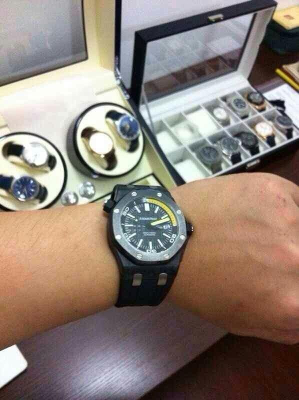 Audemars Piguet 15706 Carbon Replica on Wrist