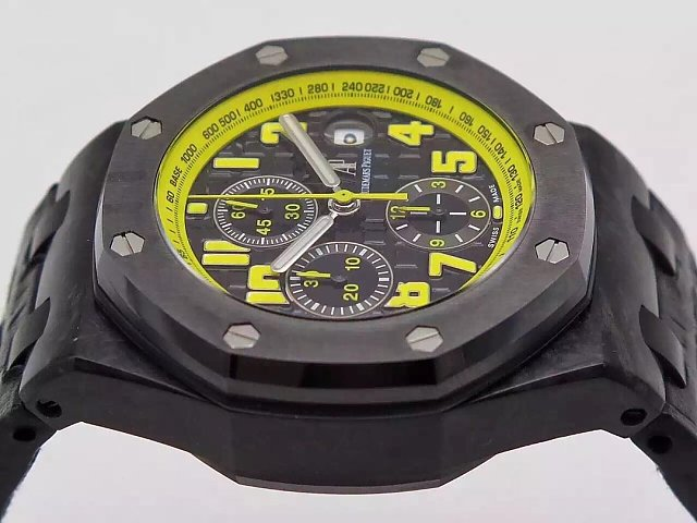 Audemars Piguet Bumble Bee Black Ceramic Bezel