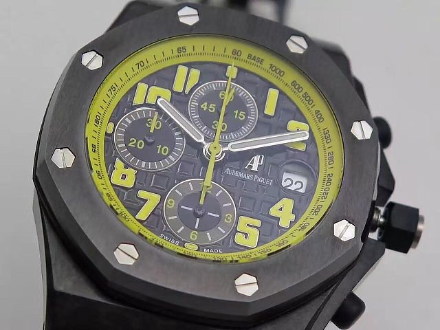 Audemars Piguet Bumble Bee Forged Carbon Case