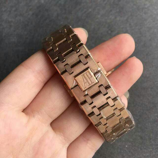 Audemars Piguet Full Rose Gold Bracelet