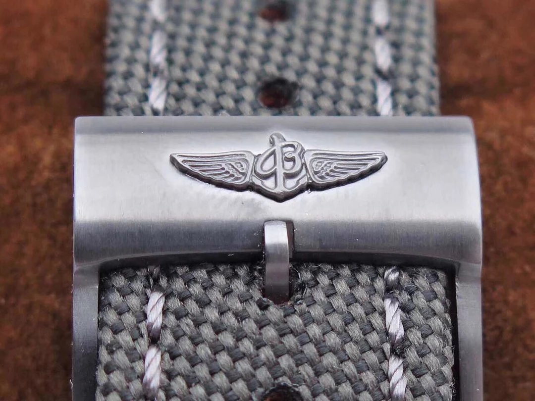 Breitling Logo on Nylon Band Buckle