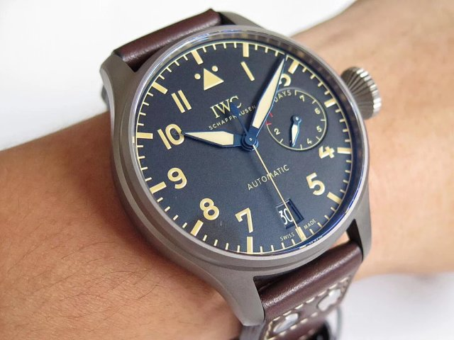 Z Factory Published Two Big Pilot IWC Watches