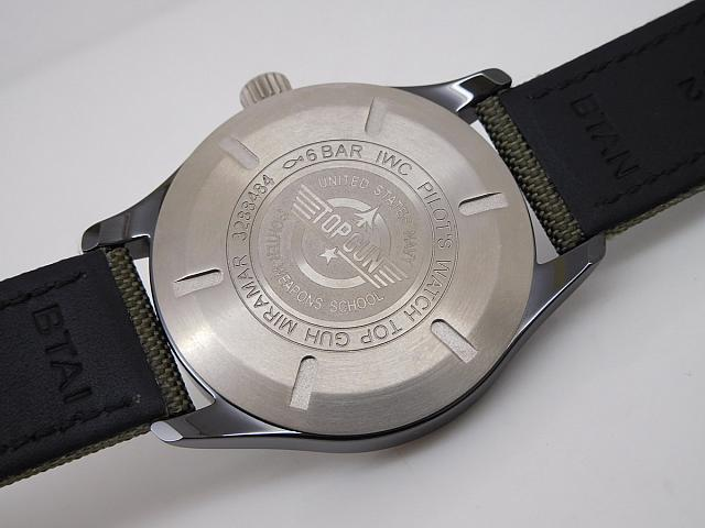 IWC Top Gun Miramar Case Back