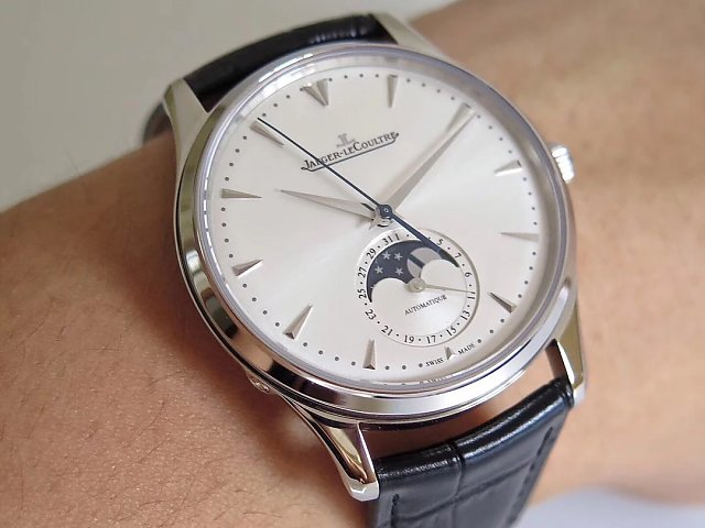 ZF Factory 1:1 Replica Jaeger LeCoultre Master Ultra Thin Moonphase Watch with A925 Movement