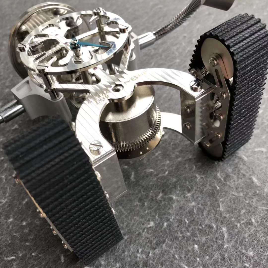 Z Factory Released Revolutionary MB & F Sherman Happy Robot Clock