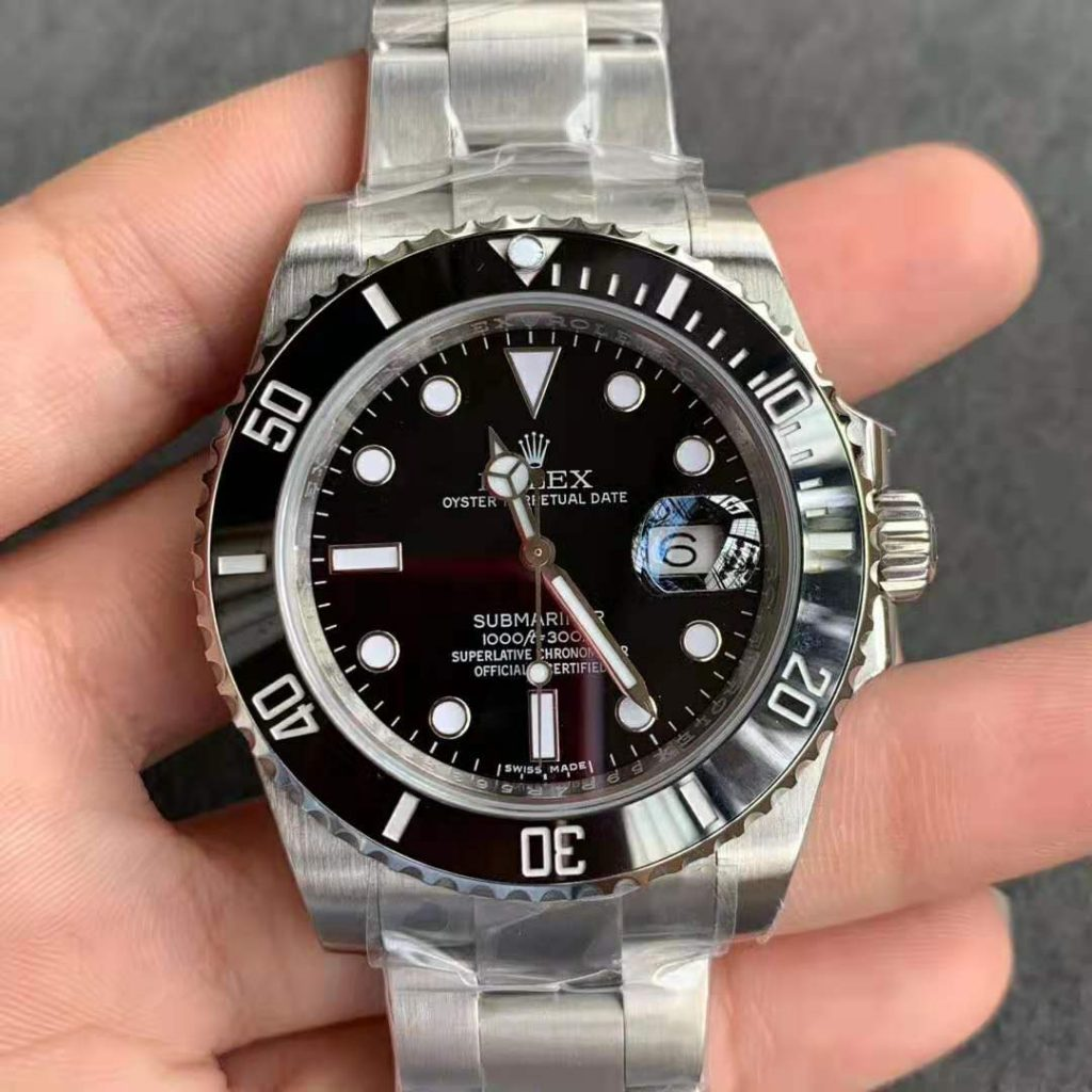 Noob V8 Replica Rolex Submariner 116610LN