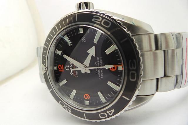 Omega Black Ceramic Bezel