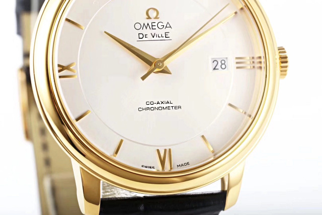 Omega De Ville Yellow Gold Case