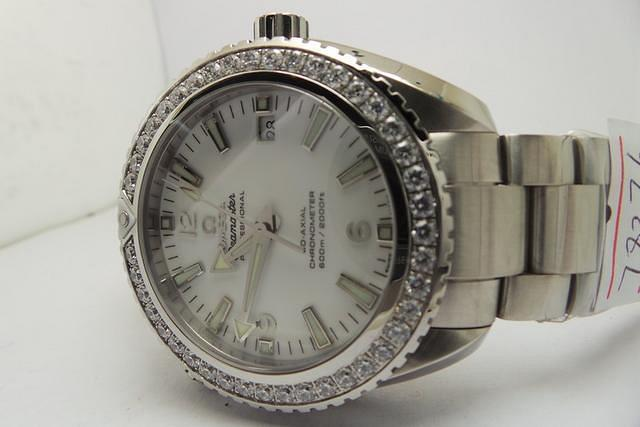 Omega Diamond Bezel