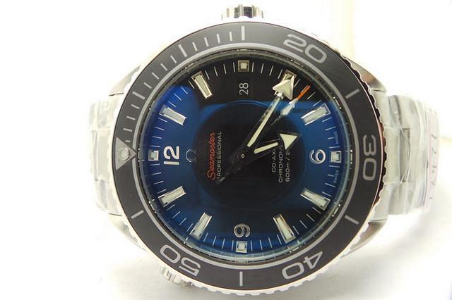 Omega Planet Ocean Black Ceramic Bezel