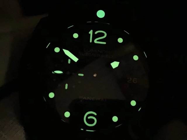PAM 616 Dial Lume