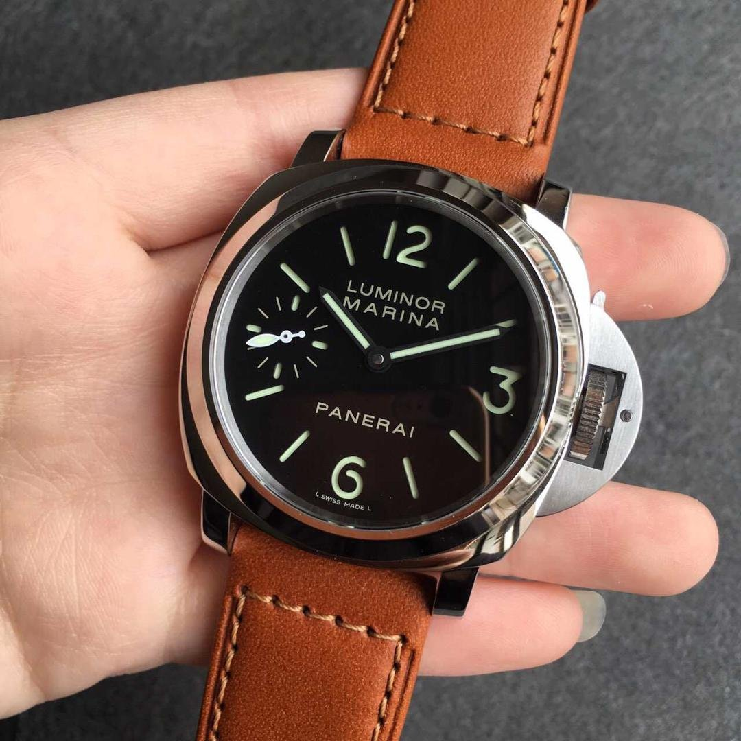 Panerai Luminor Marina PAM 111 Black Dial
