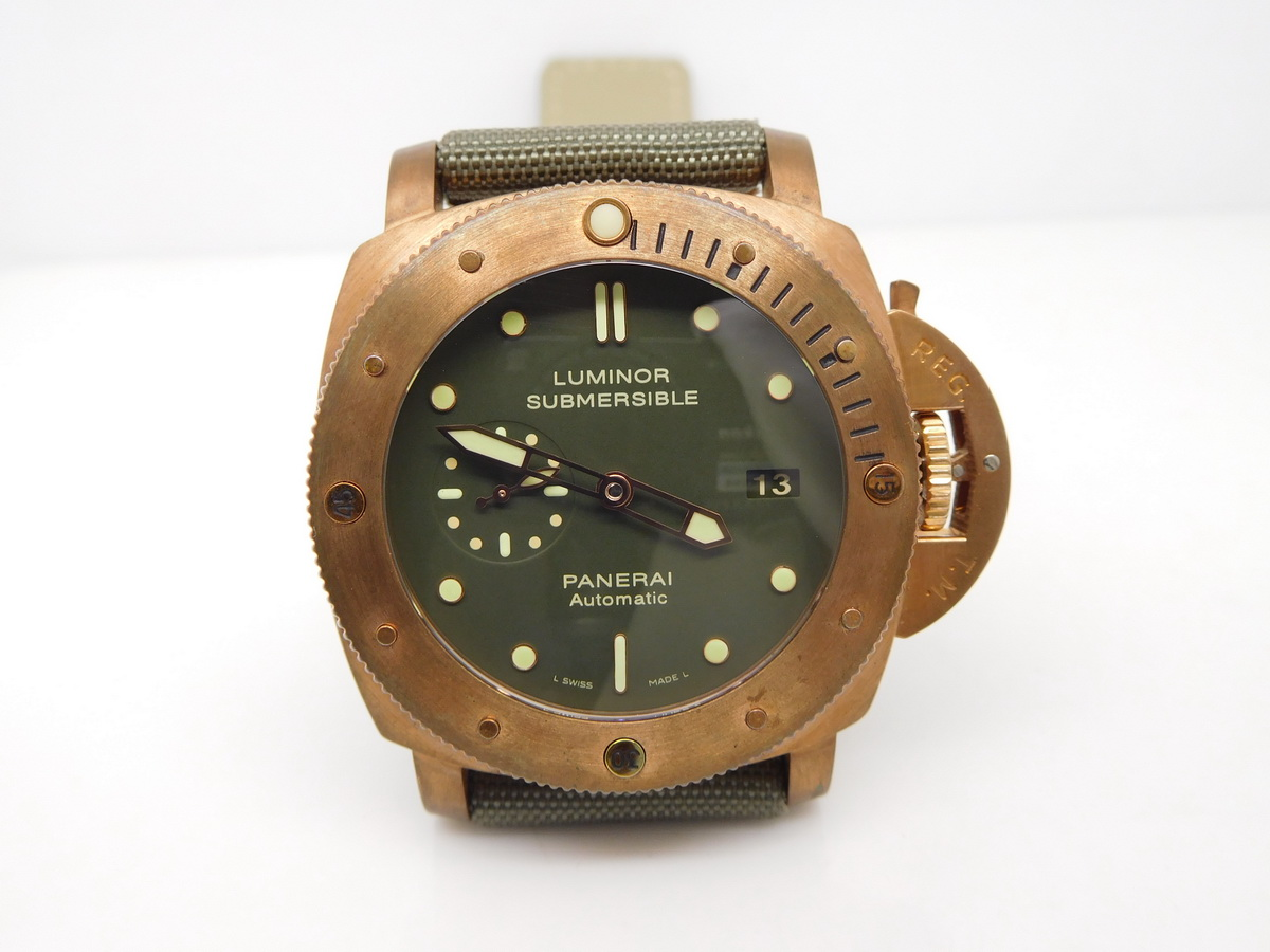 Panerai Luminor Submersible Bronzo Replica
