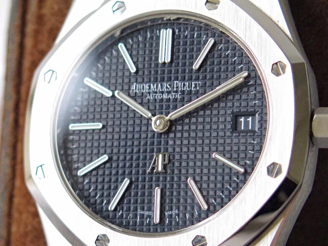 Replica Audemars Piguet Blue Checkered Dial