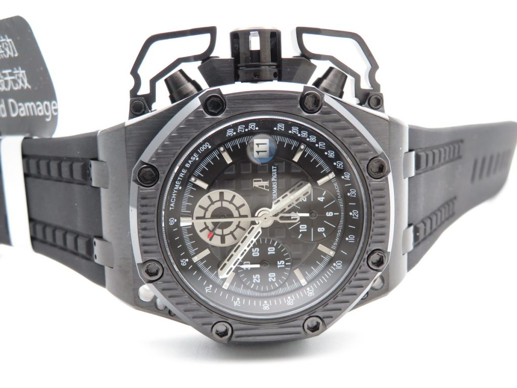 Replica Audemars Piguet Survivor DLC Black