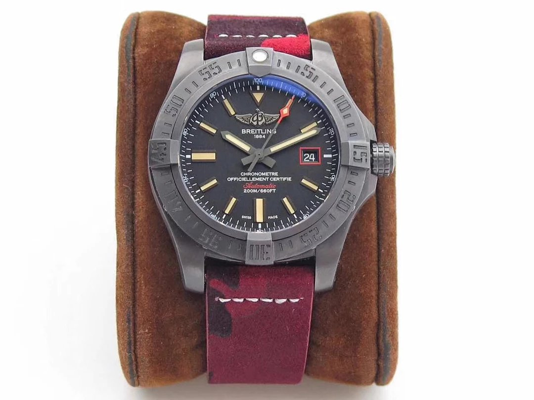 New Arrival Z Factory Replica Breitling Avenger Titanium Watch – Black Bird Are Sailing The Sky