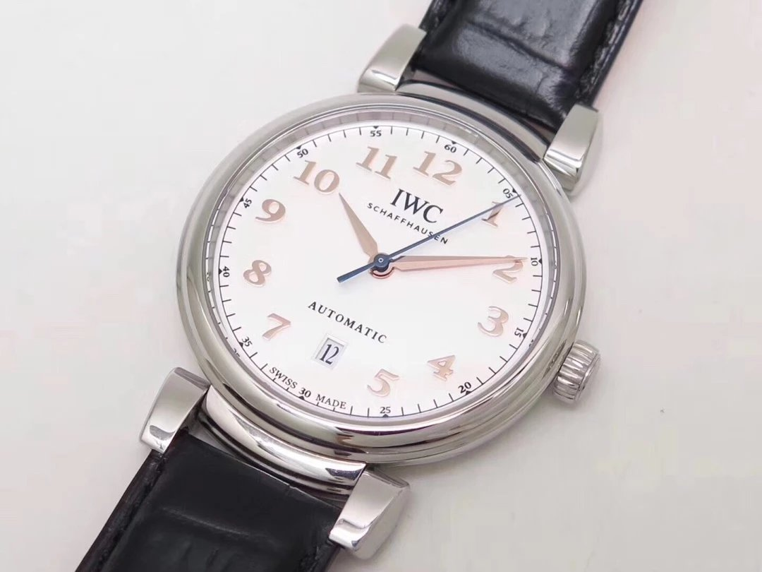 Replica IWC Da Vinci Leather Watch