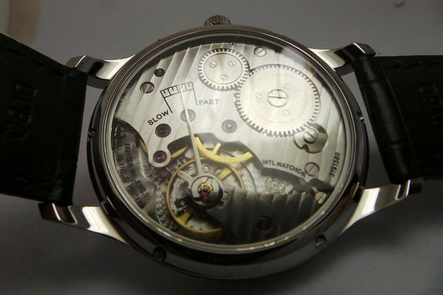 Replica IWC HandWound Movement