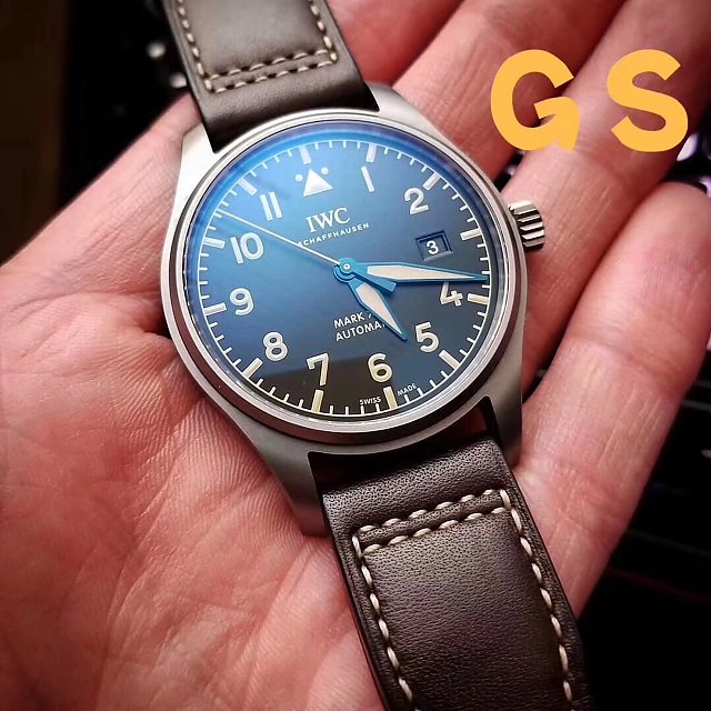 Replica IWC Mark XVIII IW327006 on Hand