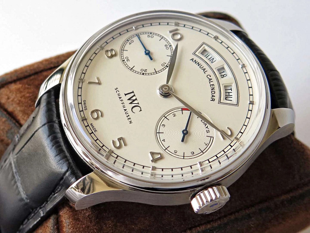 Replica IWC Portuguese Stainless Steel Watch
