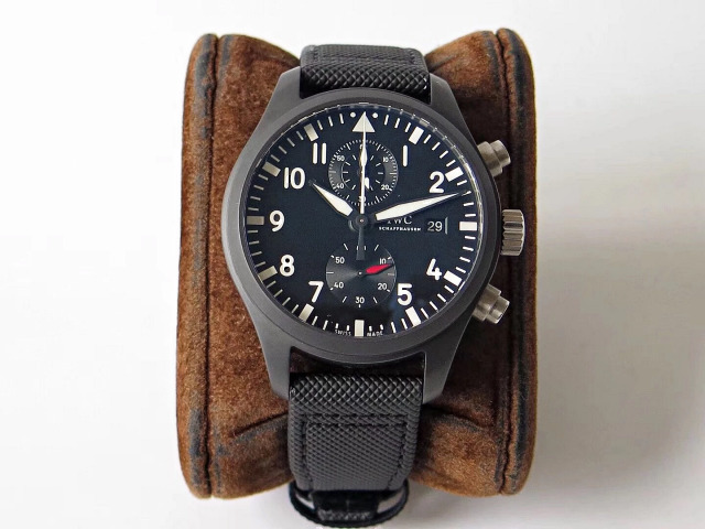Replica IWC Top Gun IW389001 Black