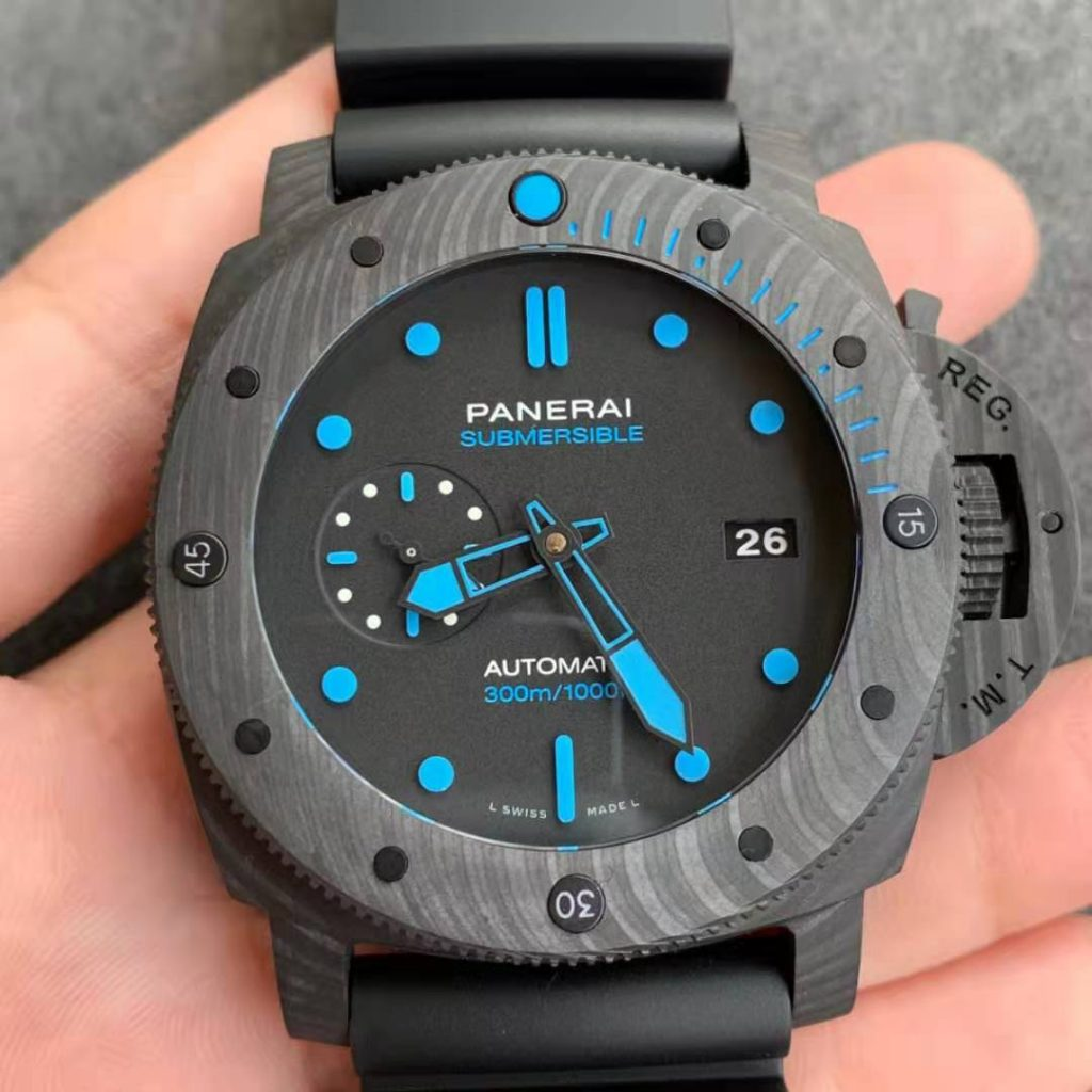 Replica Panerai Submersible CarboTech Watch