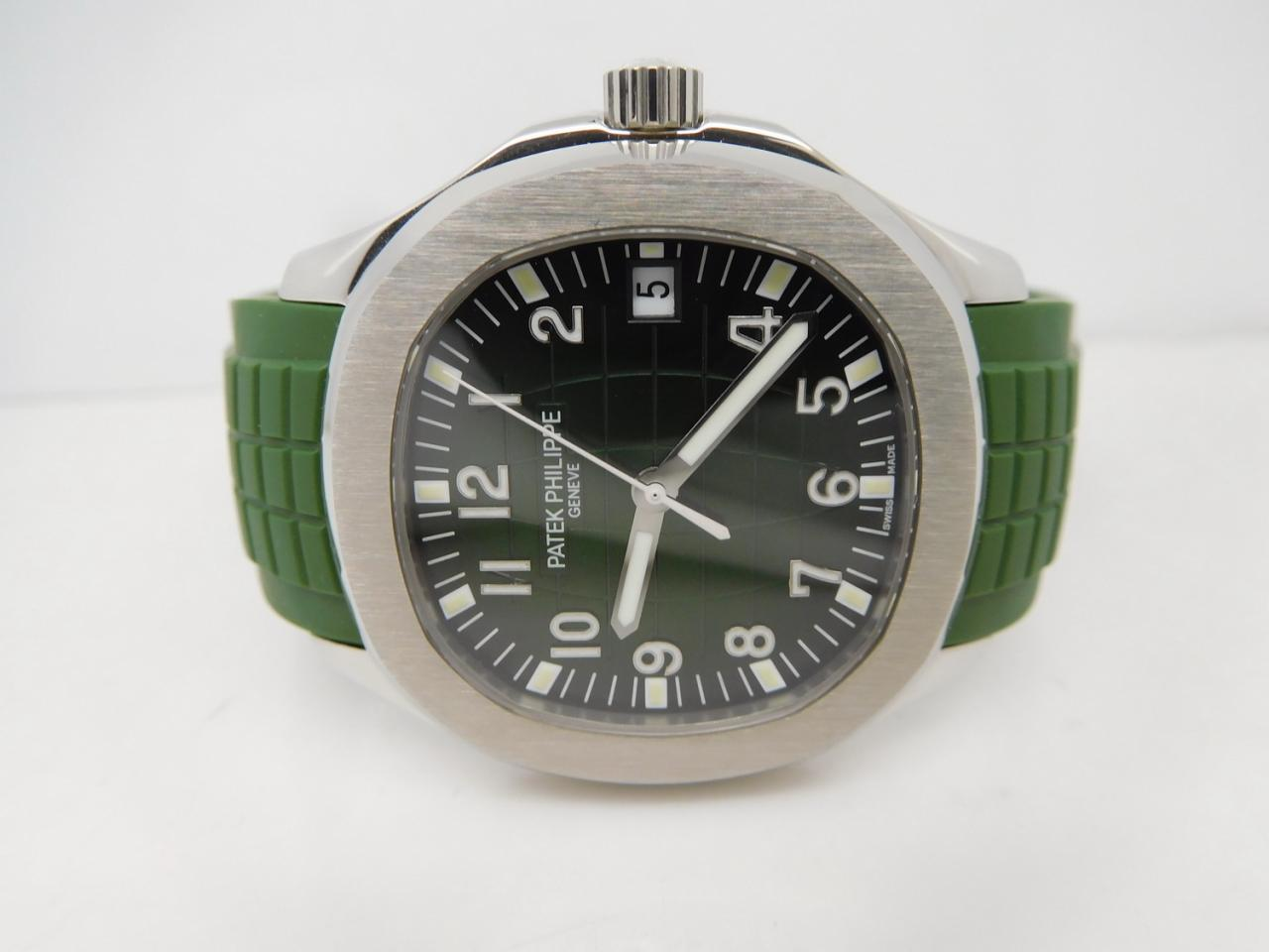 Replica Patek Philippe Aquanaut 5167 Green