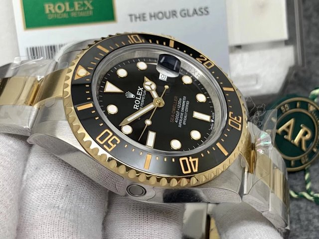 Replica Rolex 126603 Black Ceramic Bezel