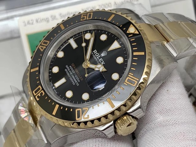 Replica Rolex 126630 Two Tone Case