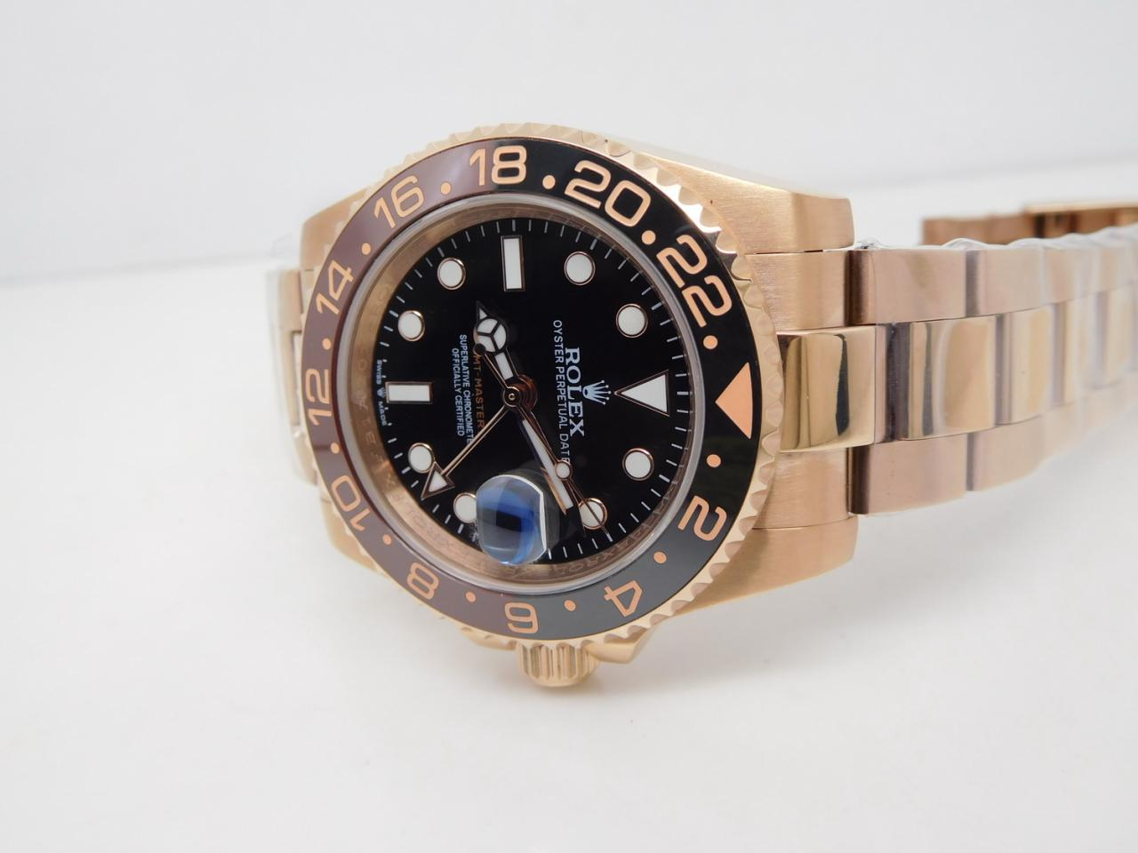 Replica Rolex 126715 Black Brown Bezel
