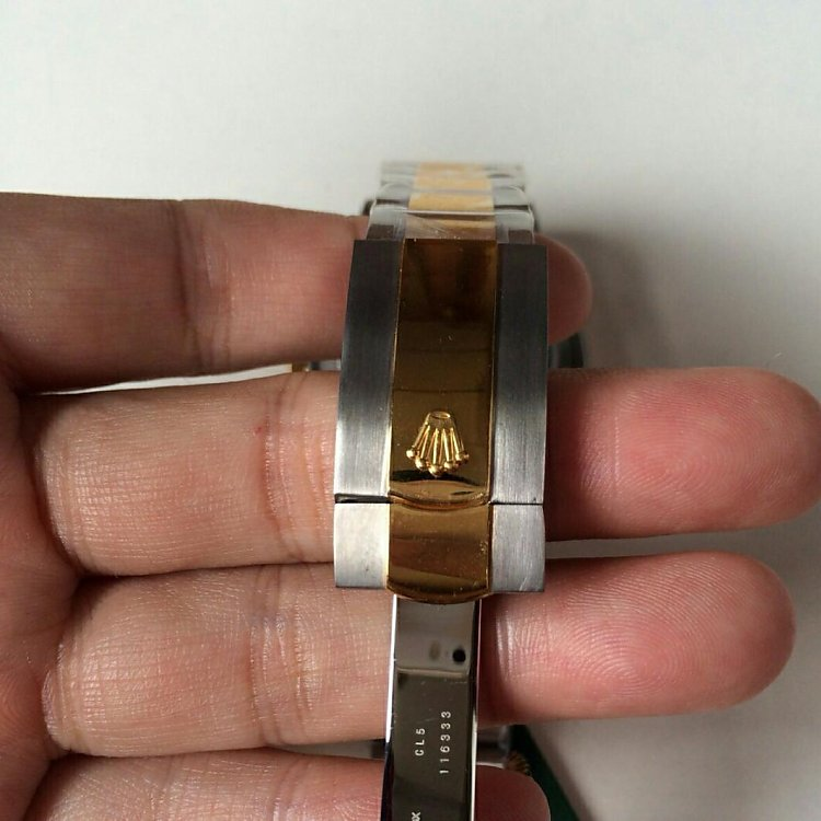 Replica Rolex 41mm Datejust Two Tone Bracelet