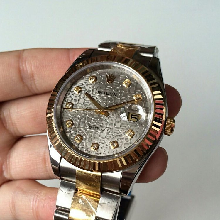 Replica Rolex Datejust 41mm Two Tone Watch