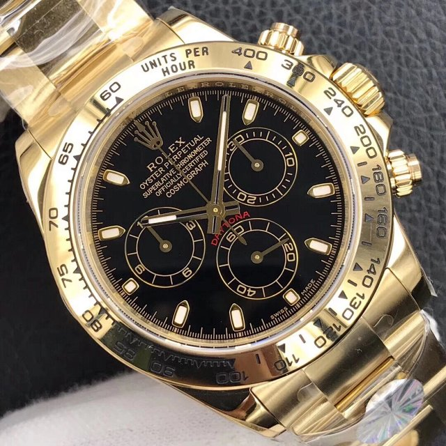 Replica Rolex Daytona 116508 Black Dial