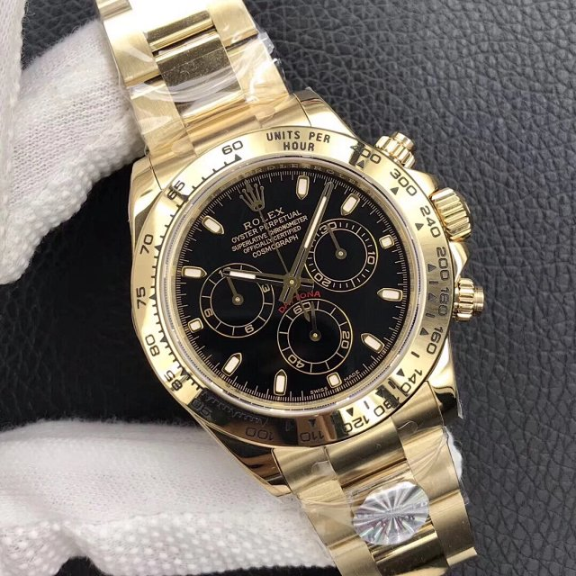 Replica Rolex Daytona Yellow Gold AR Factory