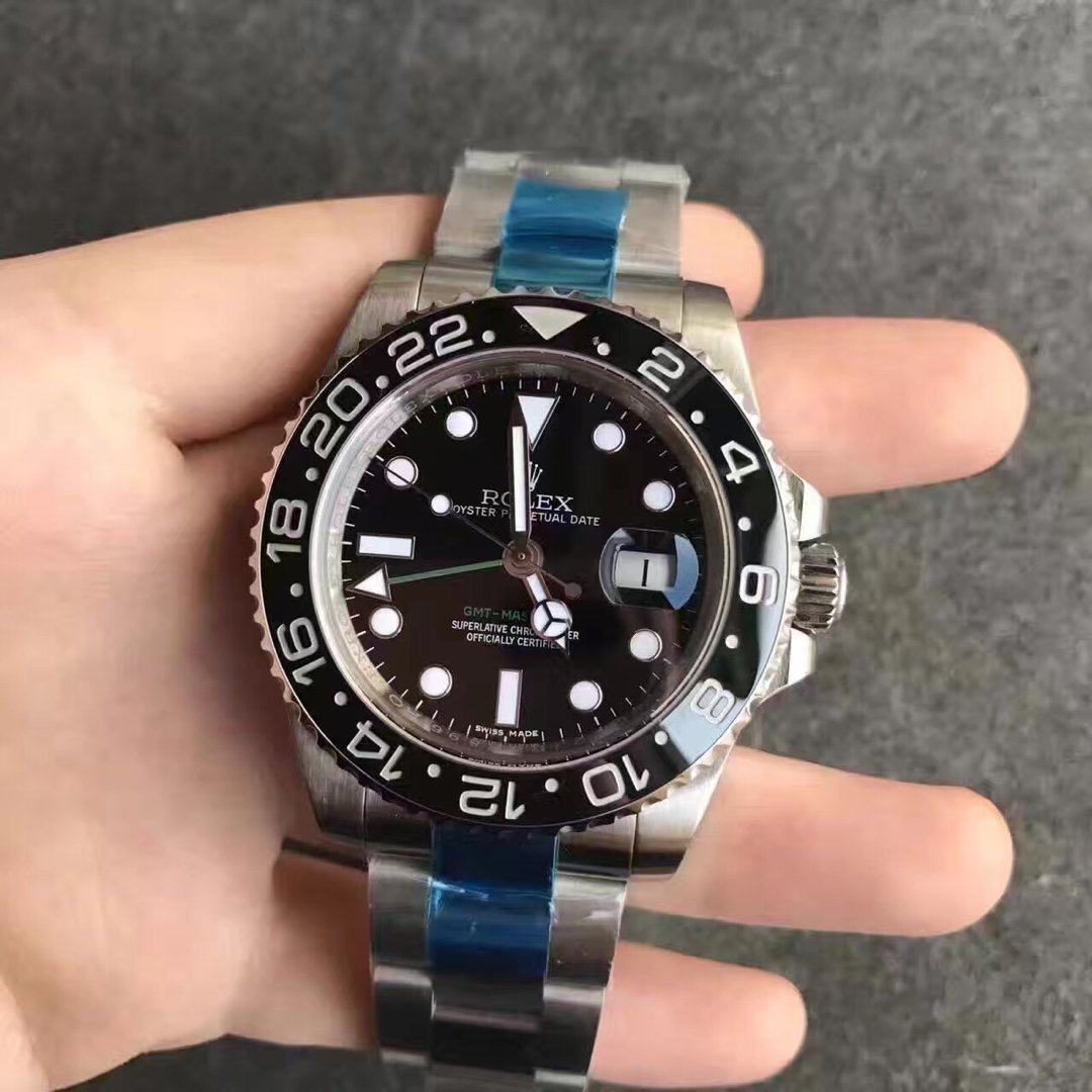Replica Rolex GMT Master II Black Watch