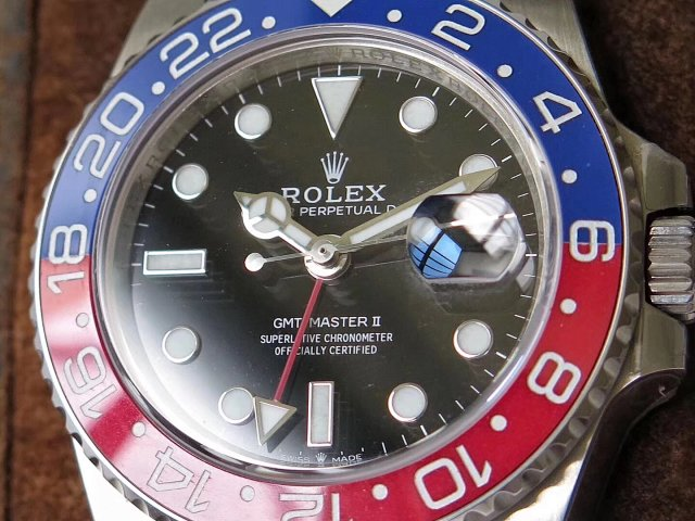 Replica Rolex GMT-Master II Blue Red Bezel