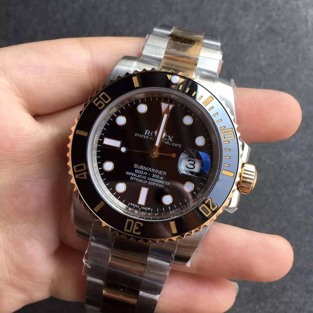 Replica Rolex Submariner 116613LN Two Tone