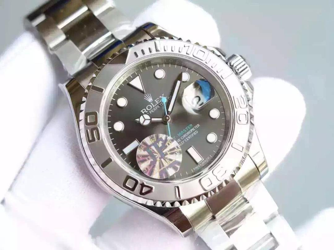 Replica Rolex YachtMaster Grey Watch