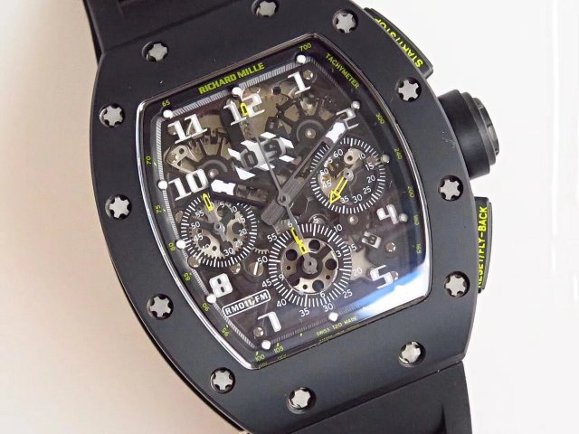Richard Mille RM011 Carbon Case