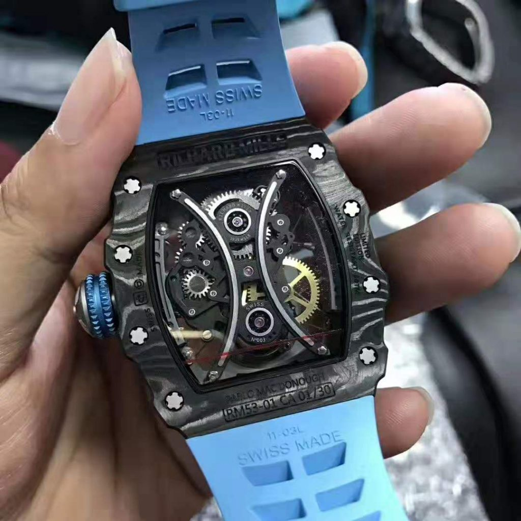 Richard Mille RM53-01 Crystal Back
