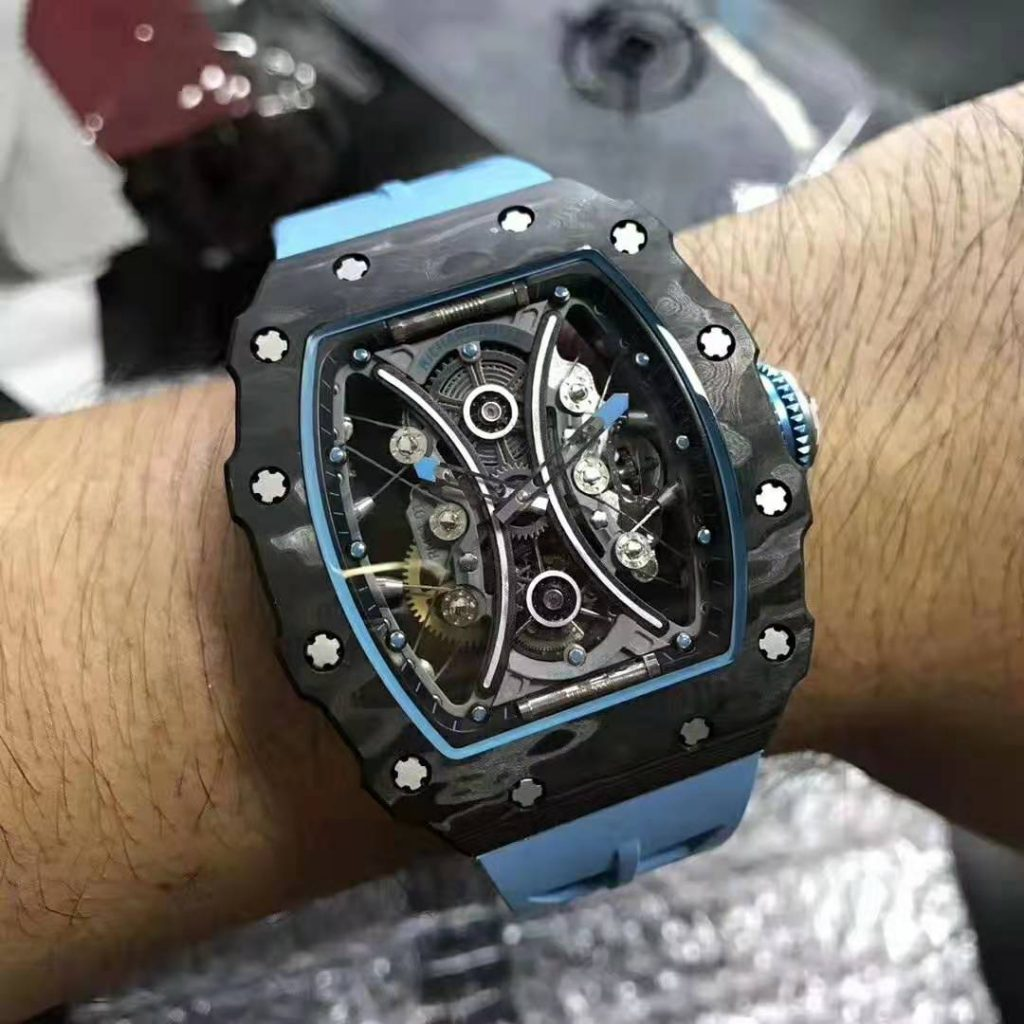 Replica Richard Mille RM53-01 Forged Carbon – A Very Hot Real Tourbillon Watch