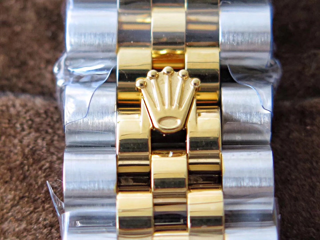 Rolex Buckle on Two Tone Bracelet