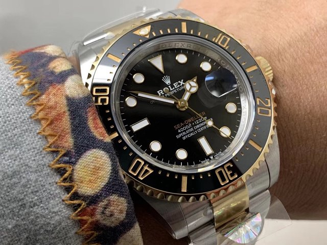 AR Factory Replica Rolex Sea-Dweller 43mm 126603 Two Tone 904L Stainless Steel Asia 2824