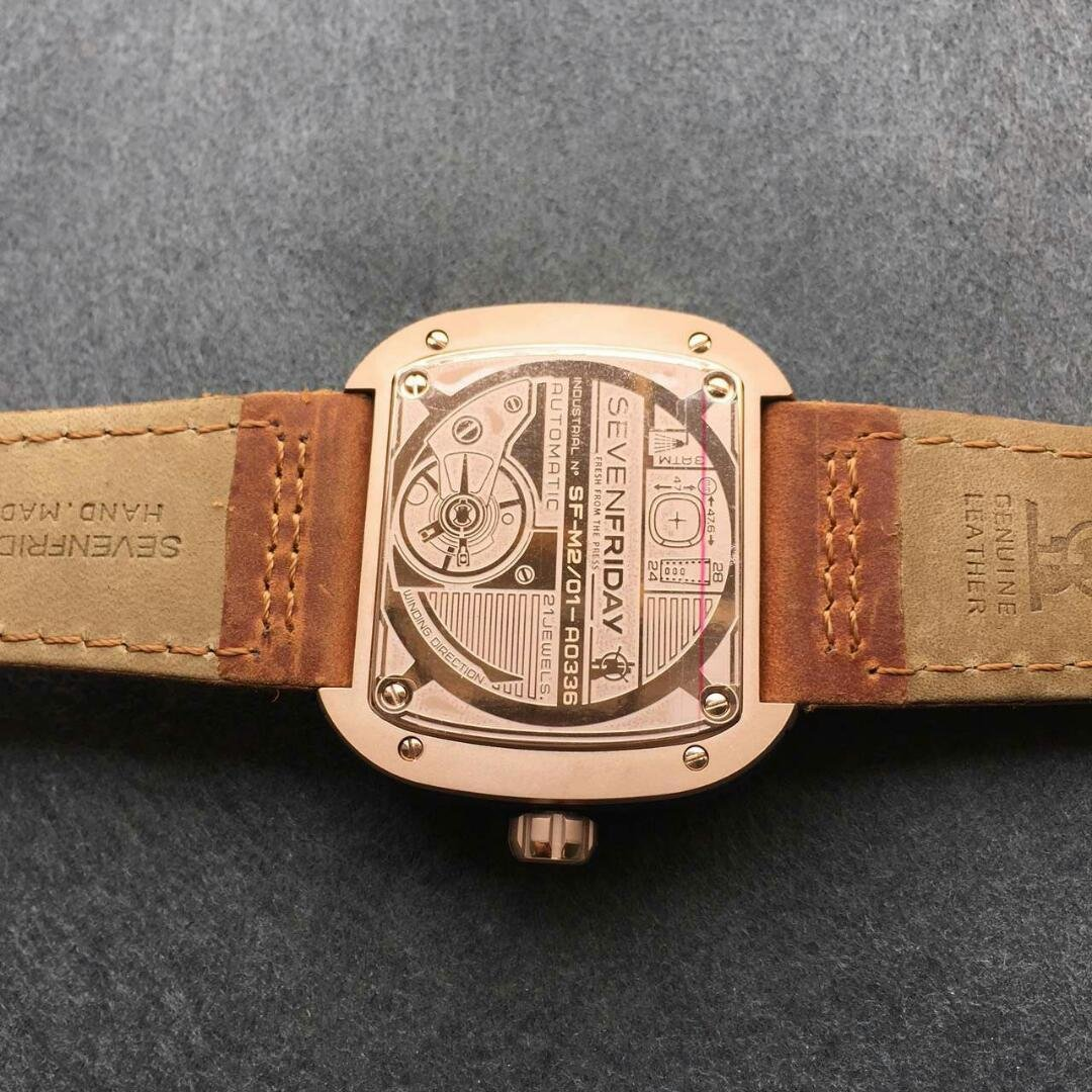 Replica SevenFriday M2-2 – A Stylish and Non-traditional Mechanical Watch
