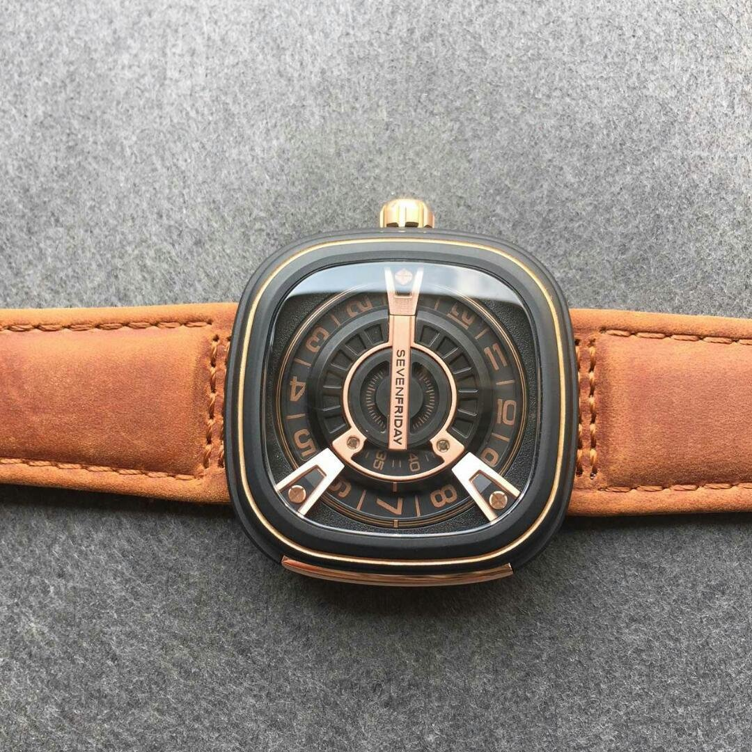 SevenFriday Watch Square Case