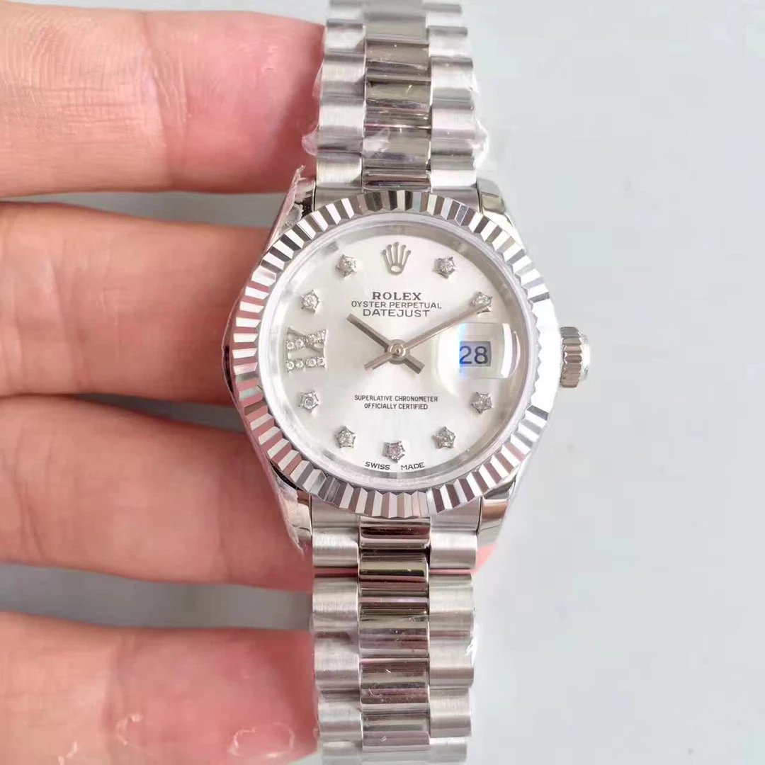 Stainless Steel 28mm Datejust Rolex