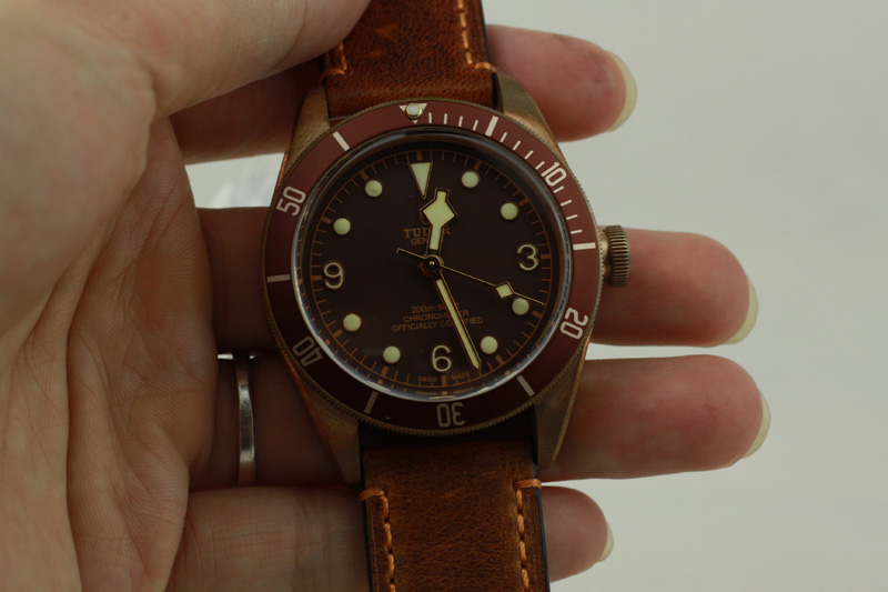 Tudor Brown Dial